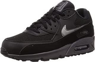 Mens Air Max 90 Running Shoe Black/Thunder Grey/Black (10)