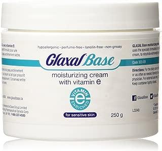 Glaxal Base Moisturizing Cream with Vitamin E, 250 g (8.8 oz)