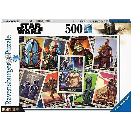 Ravensburger- Puzzle 500 pièces-Baby Yoda/Star Wars Mandalorian The Adulte, 4005556165612