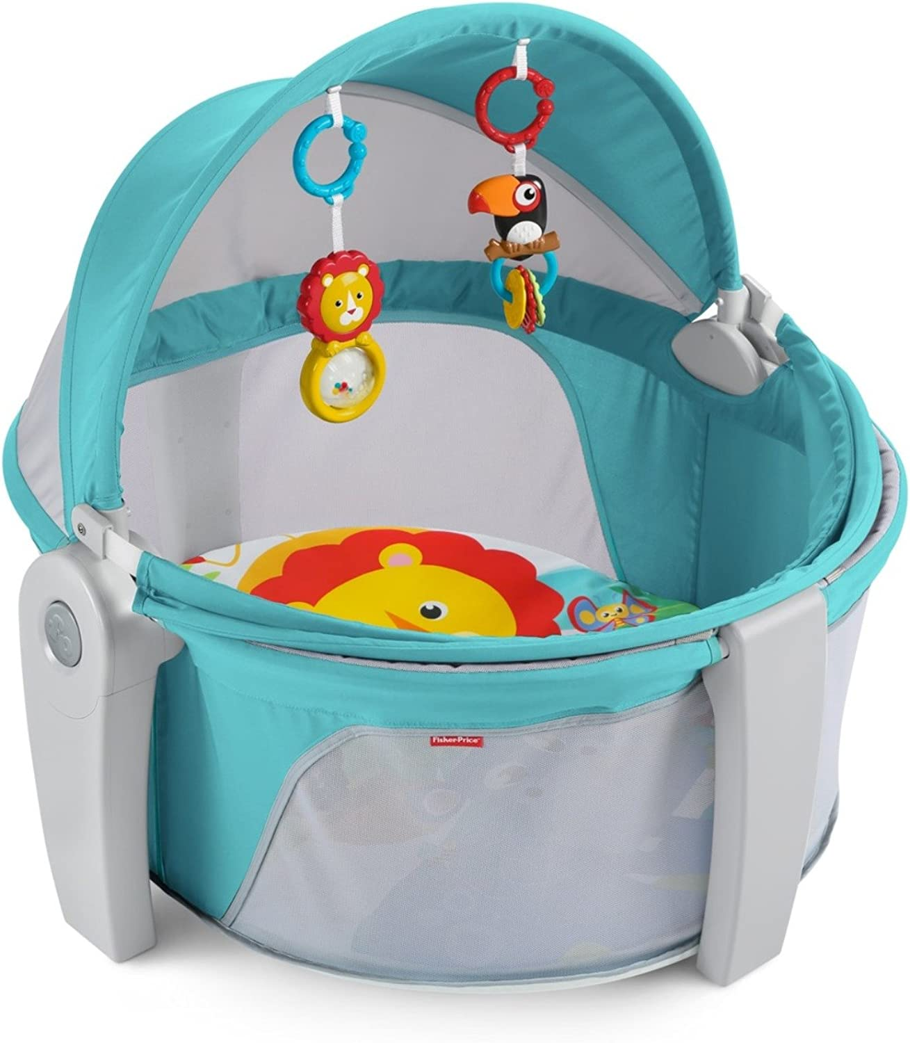 Fisher-Price On-the-Go Baby Dome, Jumpin' Jungle