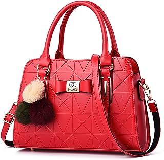 ARURA (LABEL) PU Women Handbag Shoulder Bag with Shoulder Strip