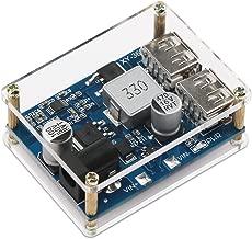 12v to 5v Converter USB, DROK Voltage Buck Regulator DC 9-36V to 5V 5A Power Supply Module Volt Step-Down Transformer Board with Dual USB Output Port