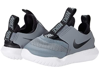 Nike Kids Flex Runner (Infant/Toddler) (Cool Grey/Black/White) Kids Shoes