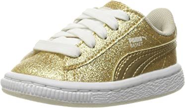 PUMA Basket Holiday Glitz Kids Sneaker (Toddler)