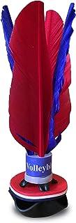 World Footbag Peteca Volleybird Flyer Shuttlecock Jianzi Kicker, Assorted Colors