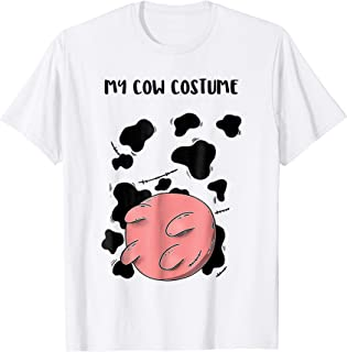 Cow With Utters Shirt Cowprint Shirt Cow Udder Costume Tee