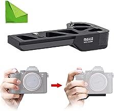 Meike MK-X1EM Metal Bracket Hand Grip Compatible Sony A9 A7MIII a7RIII a7RII a7II a7SII Camera