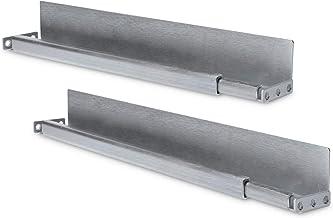 """DIGITUS 1HE glijrails voor 19"""" netwerkkasten, variabele diepte van 35 tot 60 cm, L-profiel, 2 mm dik plaatstaal, draagverm..."""