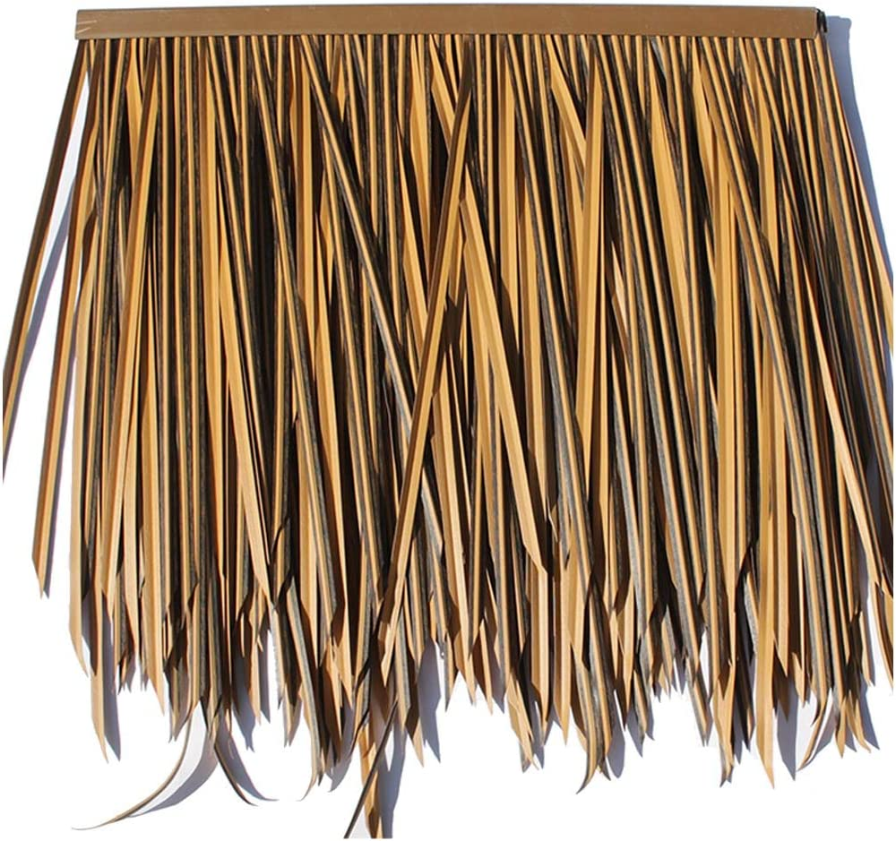 Simulation Thatch Tile Plastic PE Discount is also underway New product R Decoration Roof Straw