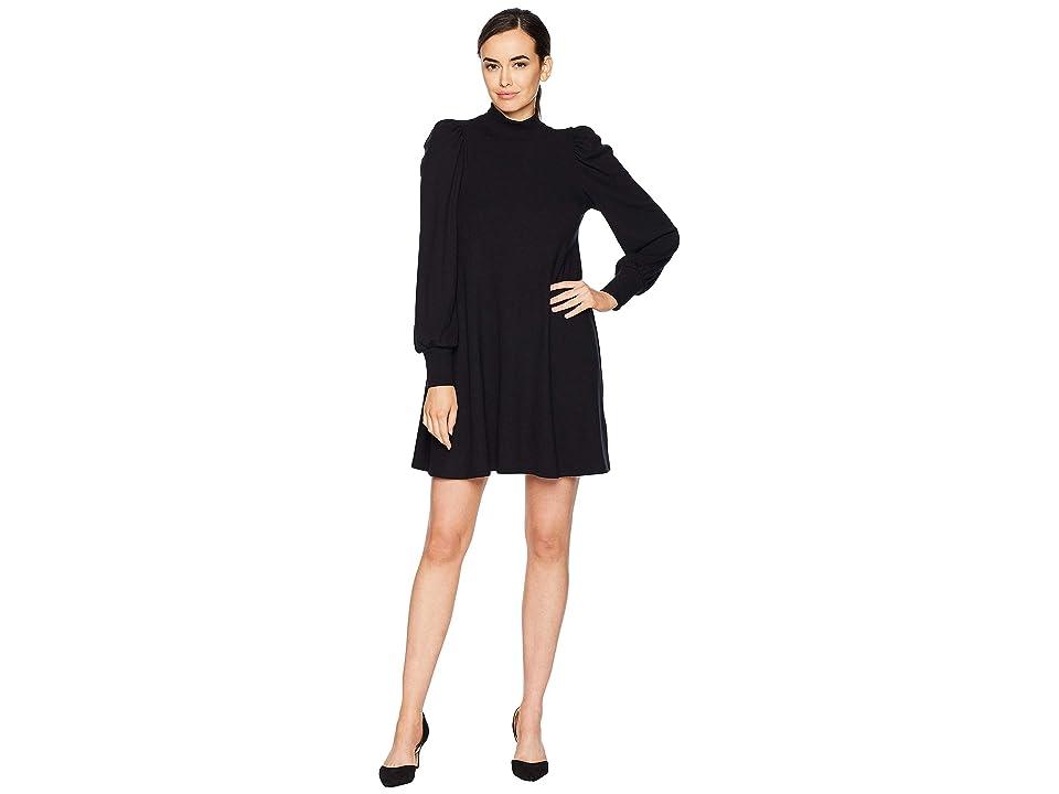 Rachel Pally Luxe Rib Genevieve Dress (Black) Women