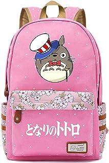 Anime My Neighbor Totoro Cosplay Bookbag Backpack Shoulder Bag School Bag Travel Daypack Rucksack (Color : 015, Size : 30...