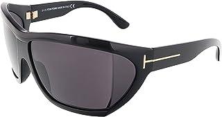 توم فورد نظارات شمسية للنساء، لون العدسة رمادي، FT0402