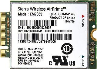 Lenovo純正 Sierra Wireless EM7355 Gobi 5000 LTE/EVDO/HSPA+ M.2 3G 4G ワイヤレスWAN WWANカード 04W3801 for Thinkpad X240, X1 Carbon, ...