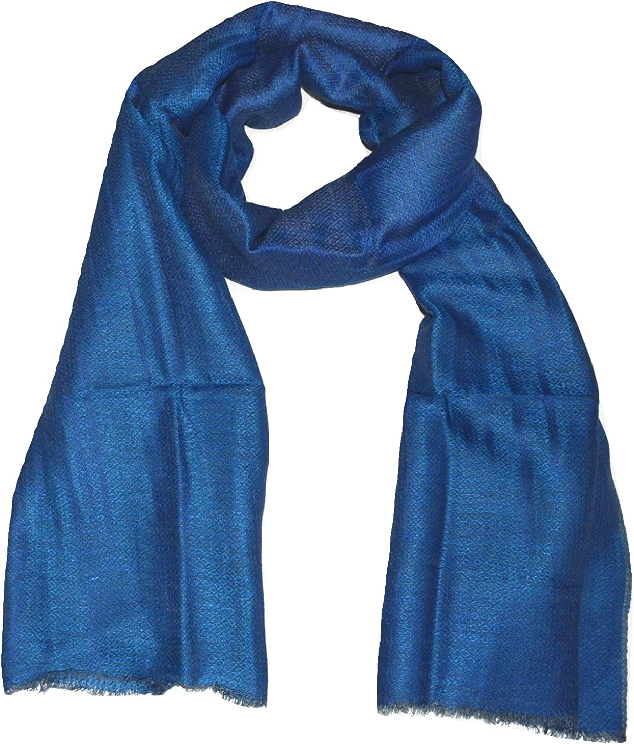 Linen Scarf, Two Tone Diamond Weave, Fluffy, Soft, Airy, Large, All Weather Linen Scarf.