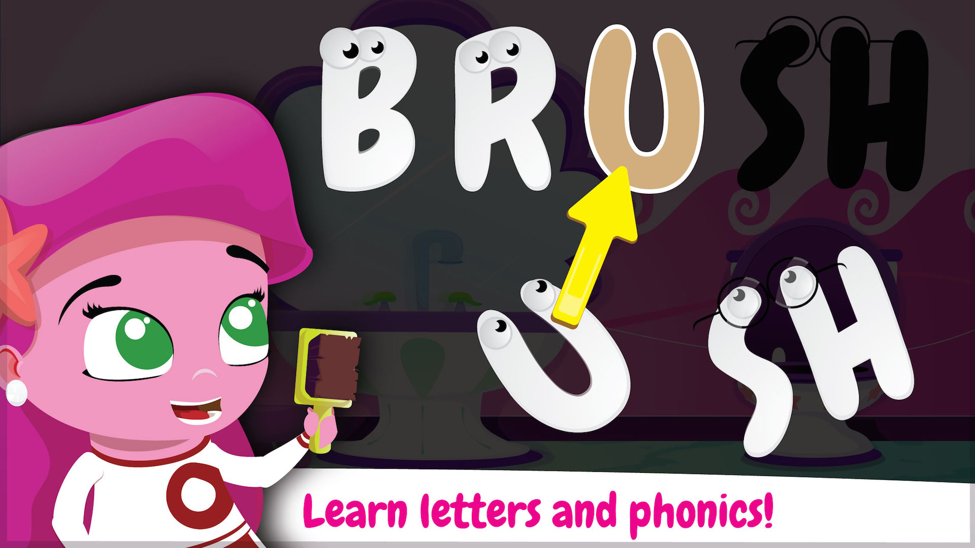 Wonster Words: ABC, Phonics, and Spelling for Kids