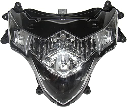 discount Mallofusa Motorcycle Front Headlight Headlamp Assembly online sale Compatible for Suzuki GSXR 1000 2009 2010 wholesale 2011 K9 Clear Lens outlet sale