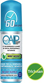 NEW SIZE! OAP Cleaner - Cleans and Sterilizes Removeable Dental and Ortho Appliances - Foam, 3-to-4 Month Supply