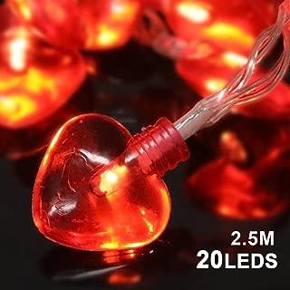 Best lighted valentine garland Reviews