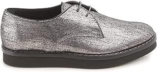 TOD'S Luxury Fashion Womens XXW0WX0L150SHMB200 Silver Lace-Up Shoes | Season Outlet