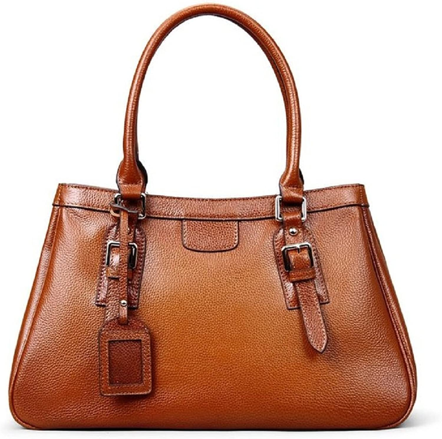 Hermiona Ladies' Vintage Italian Leather Tote Shoulder Bag