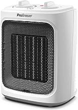 Pro Breeze Mini Radiateur Céramique 2000 W - 3 Niveaux de Puissance - Chauffage d'appoint Compact pour bureau, chambre, sa...