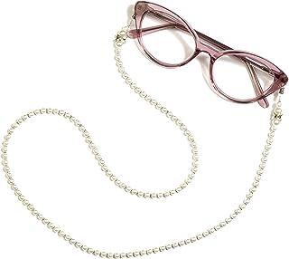 Cadena para gafas, correa para gafas de sol, cadena para gafas, retenedor de gafas de moda, soporte para gafas de lectura,...