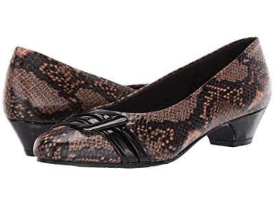 Soft Style Pleats Be With You (Natural Python) Women