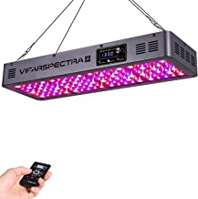 VIPARSPECTRA Timer Control Series TC600 600W LED Grow Light - Dimmable Veg/Bloom Channels 12-Band Full Spectrum for Indoor...