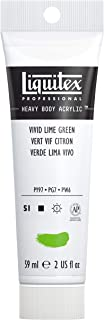 Liquitex Professional Heavy Body Acrylic Paint, 2-oz Tube, Vivid Lime Green
