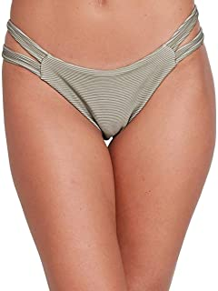 RVCA Women's Salt Wash Medium Coverage Bikini Bottom