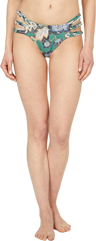 O'NEILL Women's Side Strappy Hipster Bikini Swimsuit Bottom
