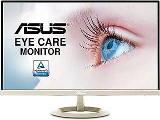 ASUS VZ27AQ - Monitor Eye Care de 27 Pulgadas WQHD (IPS, Ultrafino, sin Marco, Flicker Free, Blue Light Filter, antiparpadeo, Filtro de luz Azul), Negro
