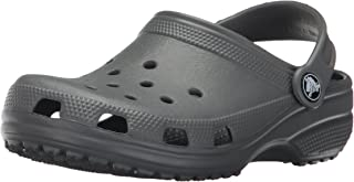 Crocs Kids' Classic Clog, Slate Grey, 6 M US Toddler