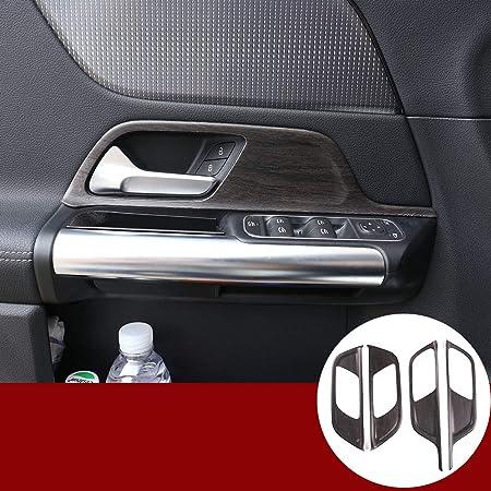 Abs Eichenholzmaserung Auto Innentürgriff Dekor Verkleidung Für Benz B Klasse W247 X247 Glb B200 2019 2020 Zubehör Auto