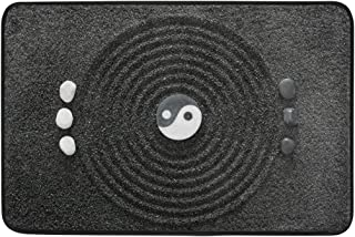 COOSUN Zen Garden Doormat, Entry Way Indoor Outdoor Door Rug with Non Slip Backing, (23.6 by 15.7-Inch)