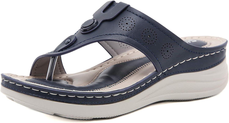 SaraIris List price Women Orthopedic Wedge Sandals Peep Comfy Sa Slides Manufacturer OFFicial shop Toe