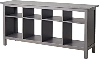 Ikea HEMNES Console table, gray dark gray stained