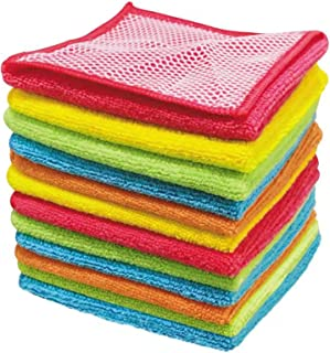 Sponsored Ad - Kitchen Towels Dish Cloths, Super Absorbent Soft and Fast Drying Dish Towels, Cleaning Cloth with Scrub Sid...