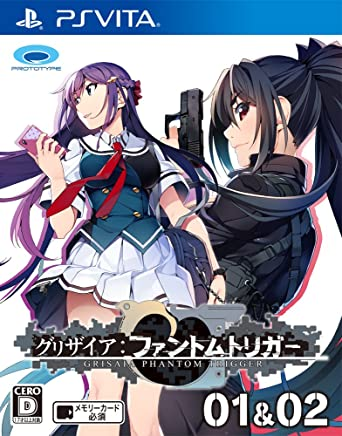 $40 Get Prototype Grisaia Phantom Trigger 01 & 02 PS Vita SONY Playstation JAPANESE VERSION