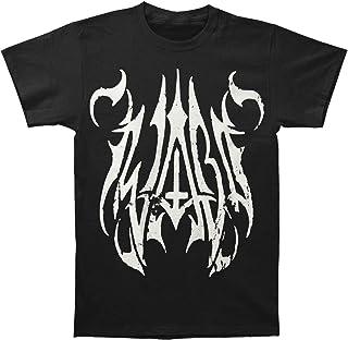 Iwrestledabearonce Men's New Black Metal T-Shirt Black