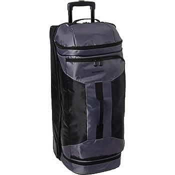 Samsonite Andante 2 Drop Bottom Wheeled Rolling Duffel Bag, Riverrock/Black, 32-Inch