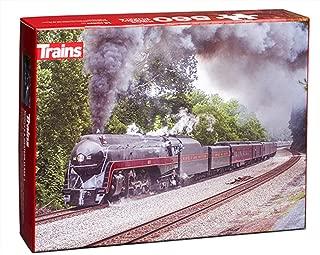 611 on Blue Ridge Grade Puzzle - Trains Magazine - 550 Pieces, 18 x 24 45.7 x 61cm