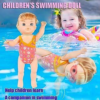 Zabawka wodna, wodoodporna lalka elektryczna laleczka wodna zabawka do zabawy w wodzie basen, lalka plażowa zabawki do kąp...