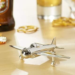 Vintage Airplane Bottle Opener - Decorative Bar Tool - Metal Bottle Opener Makes A Great Gift