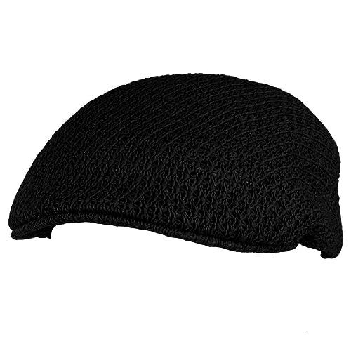 Summer Mesh Vented Ascot Flat Visor Golf Ivy Driver Cabby Cap Hat L XL a967792d5aea