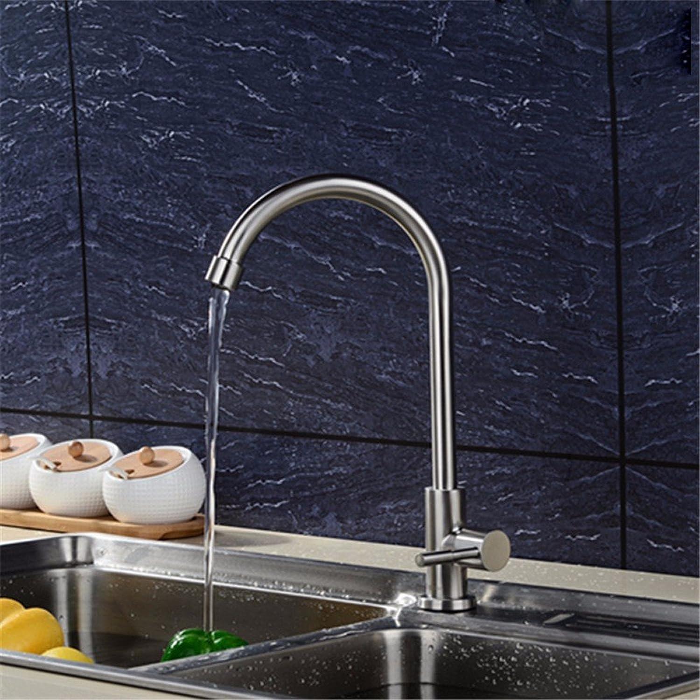 Lvsede Bad Wasserhahn Design Küchenarmatur Niederdruck Edelstahl Bad Single-Link Drehbar Warm Und Kalt Gemischt L6832