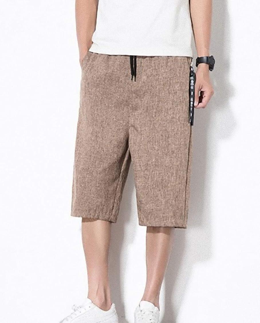 広範囲ニックネーム引き出し[ Smaids x Smile (スマイズ スマイル) ]服 パンツ ズボン ワイドパンツ ハーフパンツ 七分丈 カジュアル 涼 メンズ