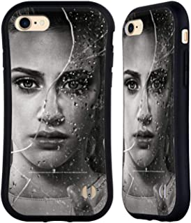 Official Riverdale Betty Cooper Broken Glass Portraits Hybrid Case Compatible for iPhone 7 / iPhone 8