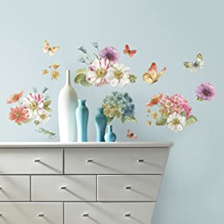 RoomMates Lisa Audit Garden Bouquet Peel And Stick Wall Decals - RMK3262SCS