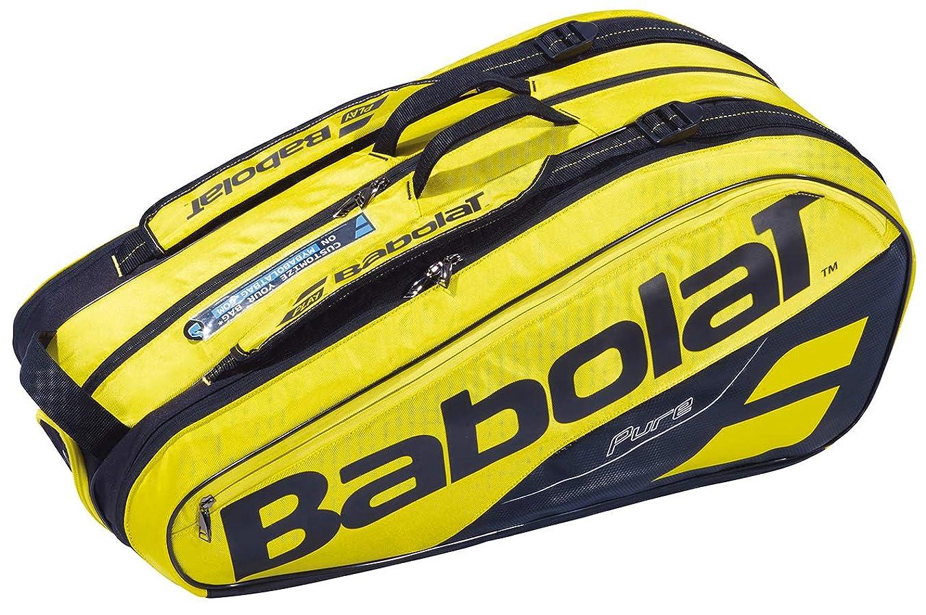 迷信特許せっかちバボラ(BabolaT) テニスバッグ ピュア?ライン ラケットバッグ(ラケット9本収納可) BB751181